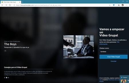Prime Video Video Grupal