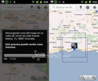 Google Maps 5.7.0 introduce la descarga de mapas para usarlos offline, Google da el paso