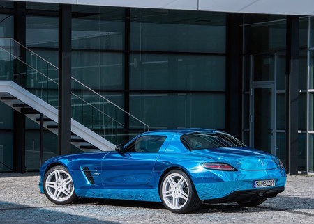 Mercedes Benz Sls Amg Coupe Electric Drive 2014 1024 15
