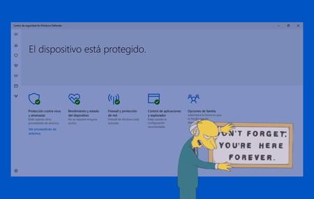 La última actualización de Microsoft Defender dificulta desactivarlo si preferimos usar otro antivirus