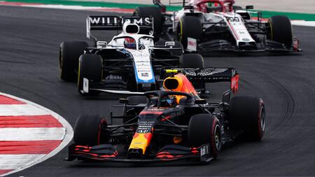Albon Portugal F1 2020