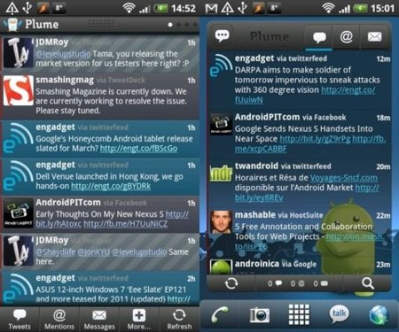 Plume for Twitter para Android