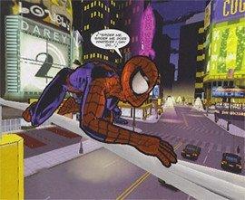 Juego de Spiderman basado en el comic