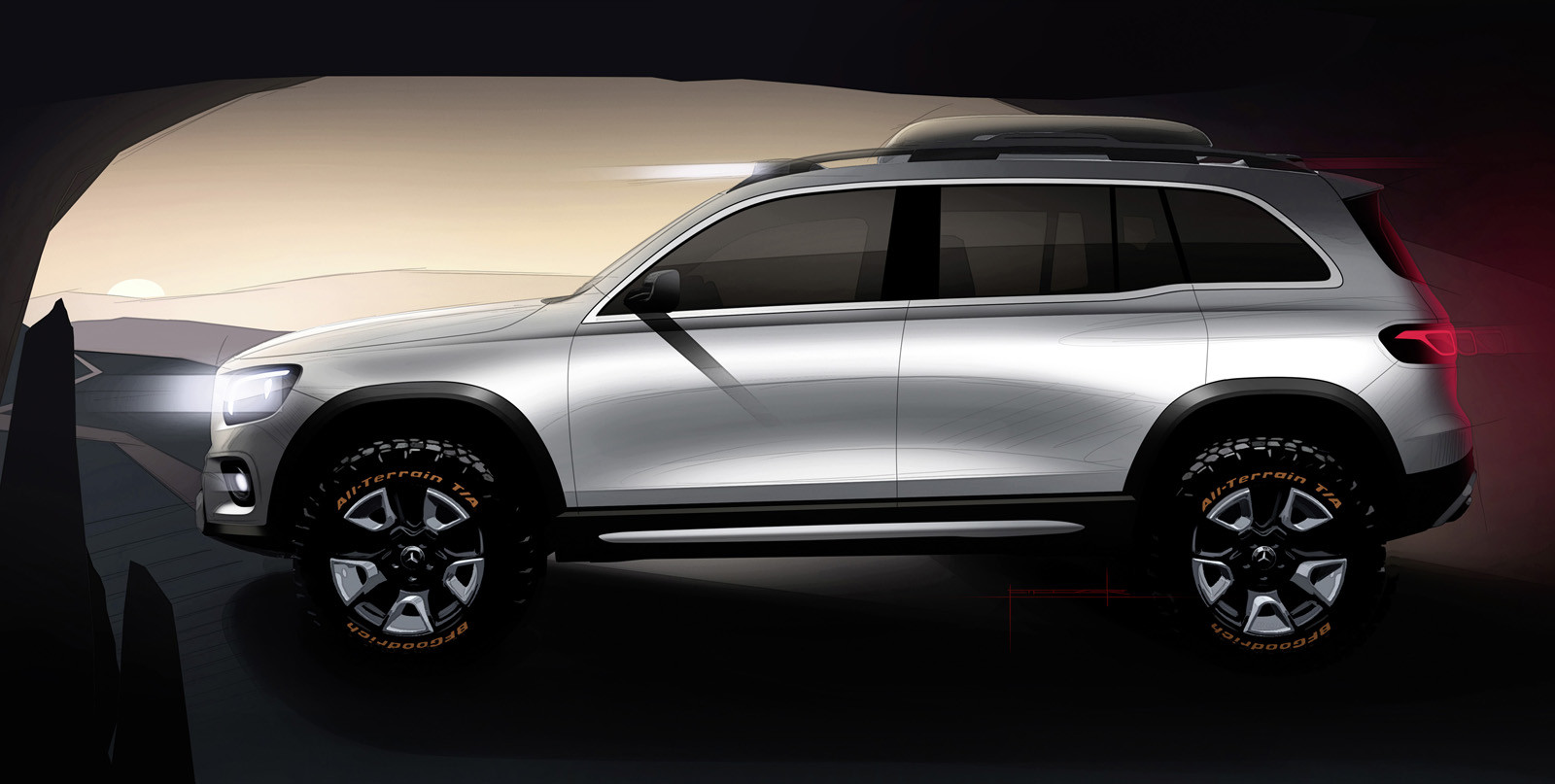 Foto de Mercedes-Benz Concept GLB (22/24)