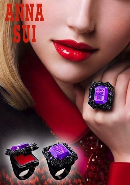 ¿Qué esconde tu anillo? El mío el nuevo gloss de Anna Sui