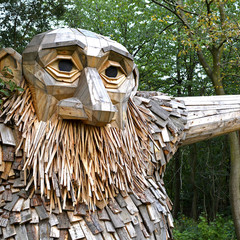 Foto 7 de 11 de la galería gigantes-madera-copenhague en Diario del Viajero