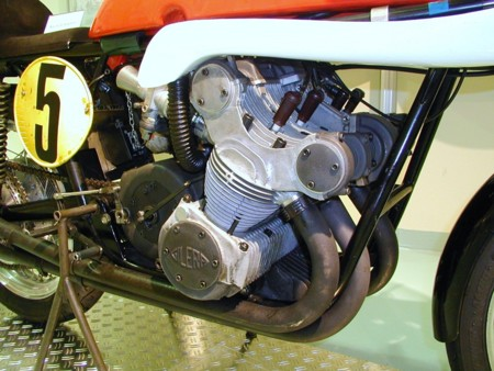 Gilera 500 Cuatro Motor