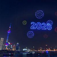 Esta es la magia detrás de la espectacular coreografía en la que un enjambre de 2,000 drones iluminó la noche de Shanghai