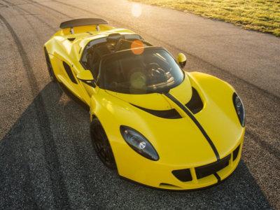 El Hennessey Venom GT Spyder podría haber superado los 450 km/h