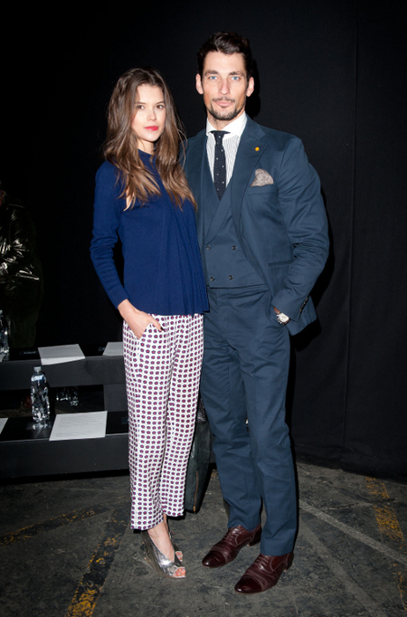 David Gandy London Collections