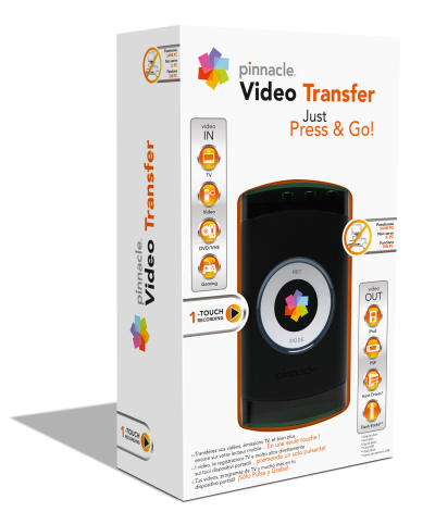 Pinnacle Video Transfer, digitalizando sin ordenador