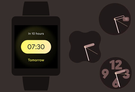 El Reloj de Google 7.1 estrena nuevo diseño en Wear OS y más widgets en Android 12