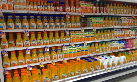 jugos naranja