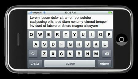 iPhone con teclado físico, más que un rumor