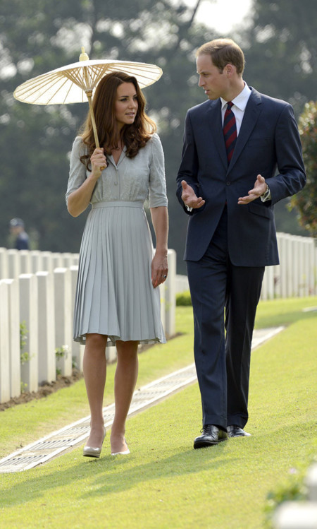 Formal vestido Kate Middleton Jenny Packham