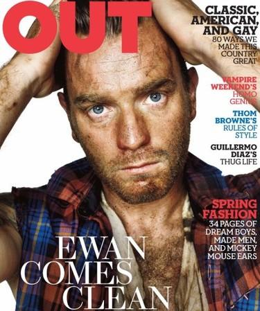 Ewan McGregor todo guarro en 'Out'