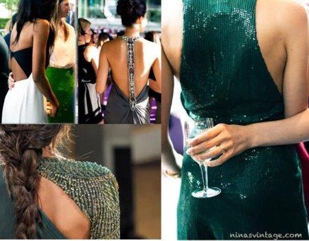 vestidos largos espalda