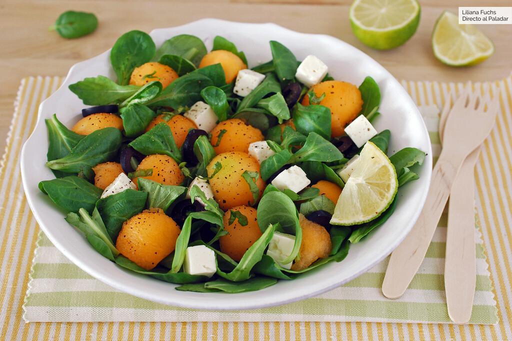 11 ensaladas frescas con melón y sandía, para hidratarte este verano