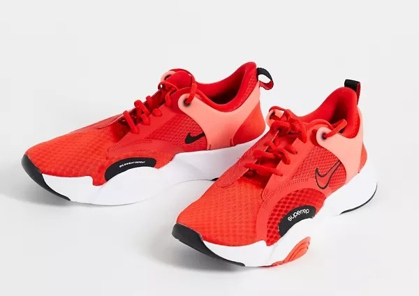 Zapatillas de deporte rojas SpeedRep Go 2 de Nike Training