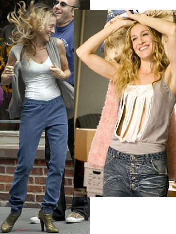 Los originales jeans de Carrie en Sexo en Nueva York