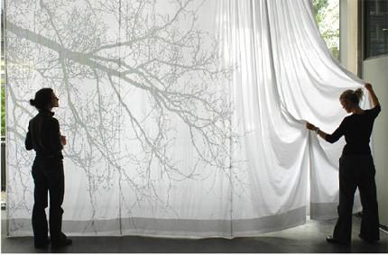 A la sombra de una cortina