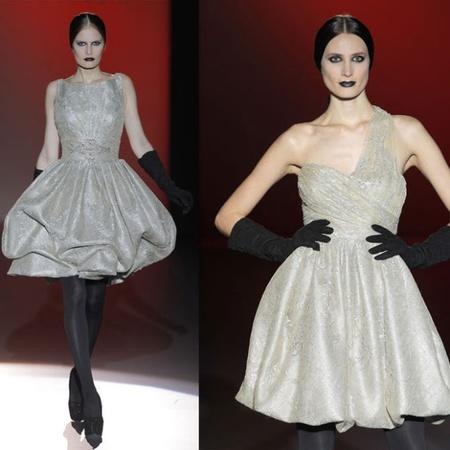 Fashion Week Madrid, Hannibal Laguna apuesta por el look gótico para el Otoño-Invierno 2013/2014