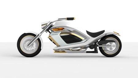 El lujo futurista de la moto eléctrica Zeus Twelve Thorium
