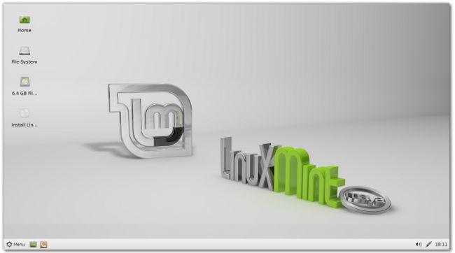 Linux Mint 13 Maya XFCE