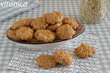 Galletas De Avena Y Yogur Sin Azúcar Receta De Cocina Fácil