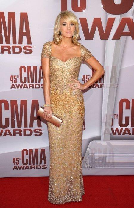 Carrie Underwood CMA Awards 2011