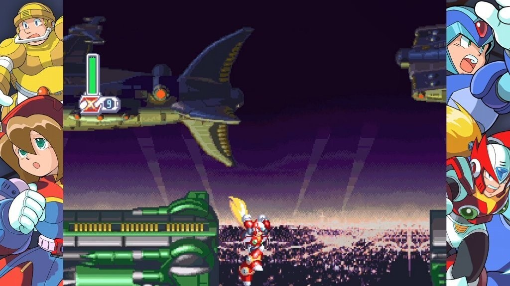 Mega Man X4 Modo Facil 01