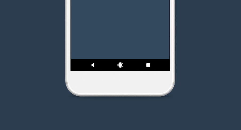 Cómo usar los botones u barra de navegación de Android
