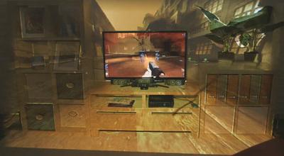 Vive los videojuegos con IllumiRoom para XBOX