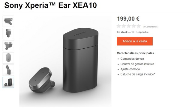 Xperia Ear Precio