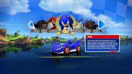 'Sonic & SEGA All-Stars Racing'. Más personajes