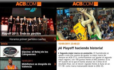 Llega a Android la aplicación oficial de la ACB