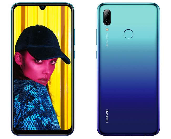 Huawei P Smart 2019: el notch de gota llega a la gama media acompañado de inteligencia artificial