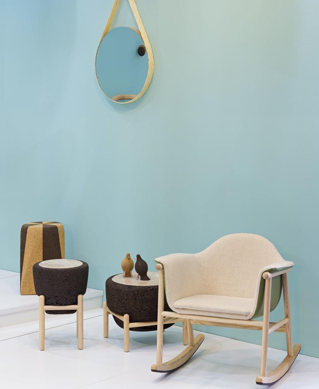 MAGMA, la mesa de centro de DAM inspirada en la fusión de minerales de nuestro planeta y presentada en Maison & Objet
