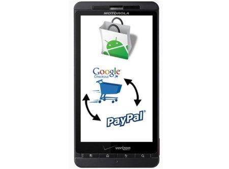 Los pagos mediante PayPal llegarán pronto a Android Market