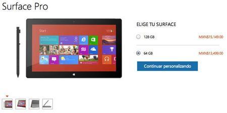 Surface Pro de Microsoft ya está a la venta en México