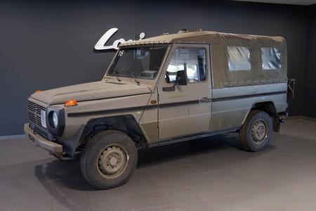 Mercedes clase g ejército suizo