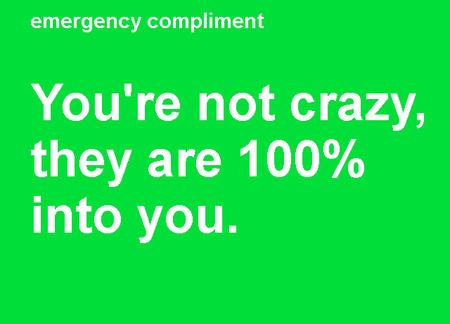 ¿Te sientes triste? Visita EmergencyCompliment.com
