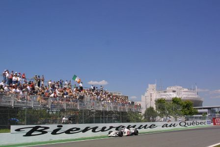 Los horarios del Gran Premio de Canadá