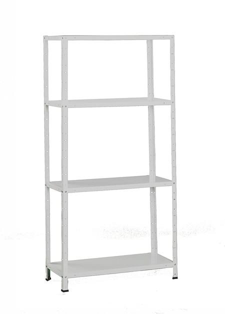 Por 24,80 euros tenemos este kit de estantería para garajes y talleres SimonRack SI242 en Amazon