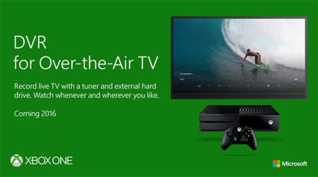 Xbox One añade DVR: podrás grabar tus series y programas favoritos para verlos después