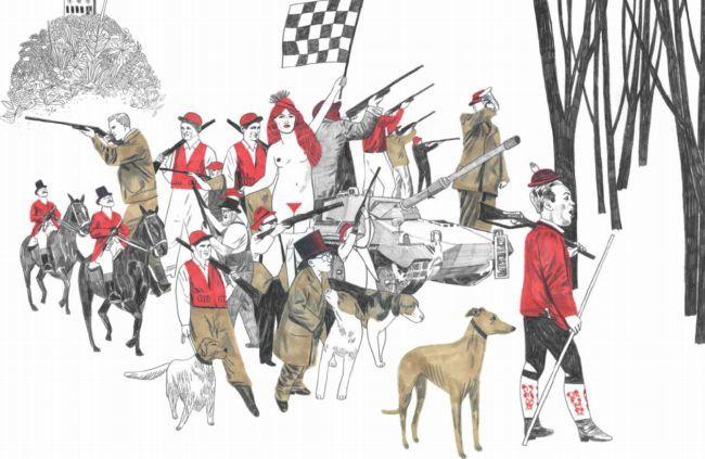 Sonia Pulido ilustra Caza de conejos