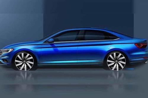 Esta silueta es del Volkswagen Jetta 2019. ¿Qué podemos esperar de la séptima generación?