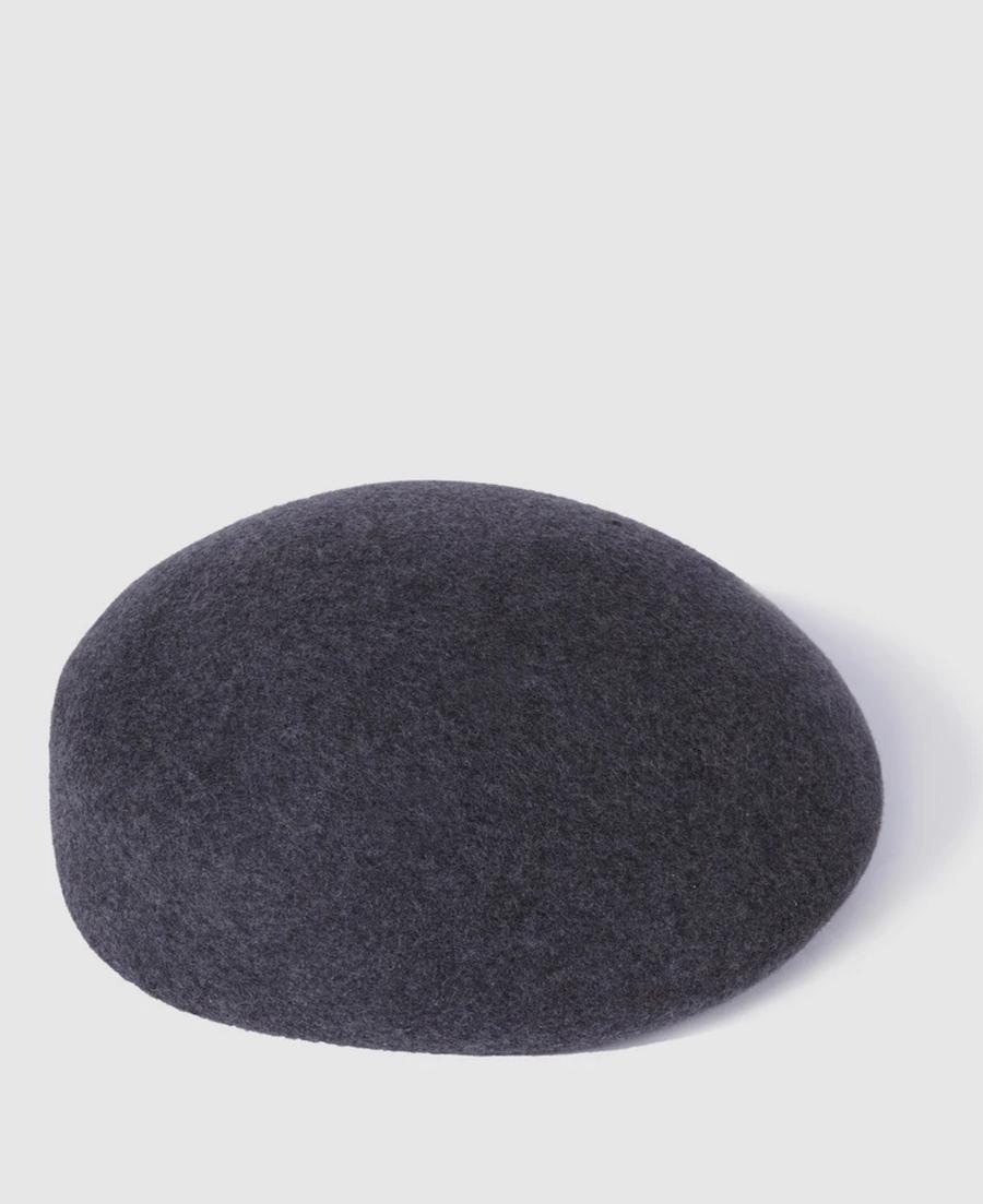 Boina de mujer Donatzelli de lana en gris