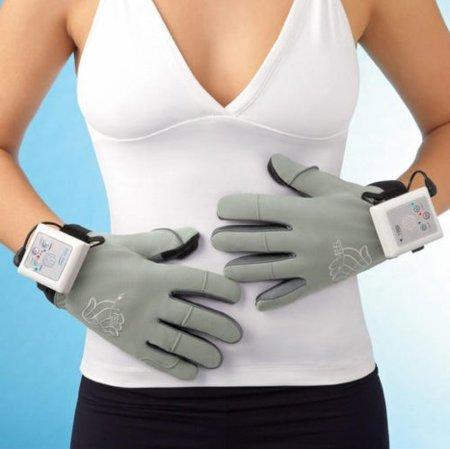 Guantes vibradores que dan masajes