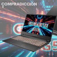 Este completo portátil gamging con gráfica RTX3060 cuesta 300 euros menos en Worten: Gigabyte Aorus G5 KC-5ES1130SD por 999 euros